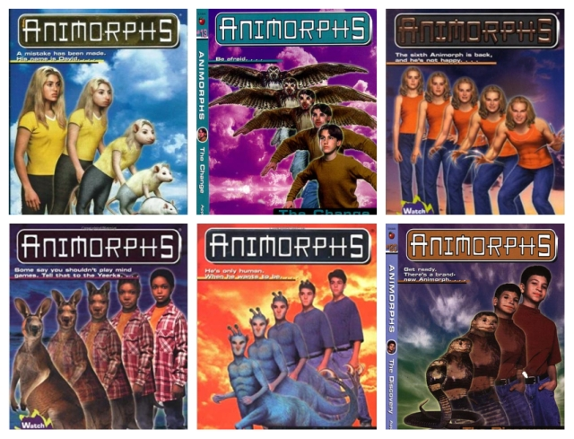 Animorphs-covers